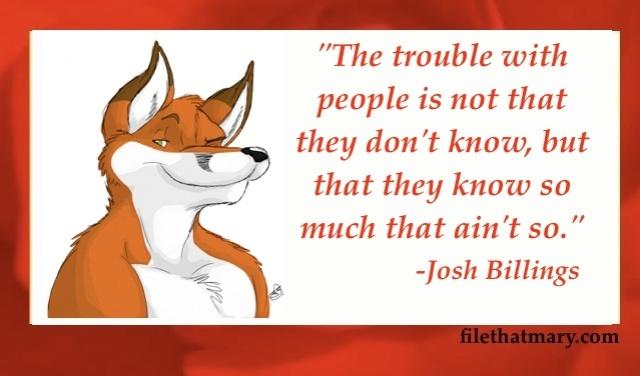 Best Josh Billings