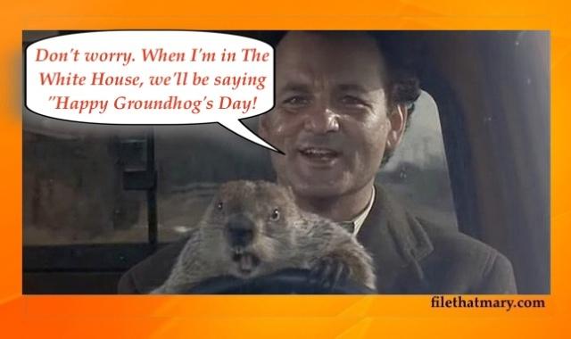 A groundhog