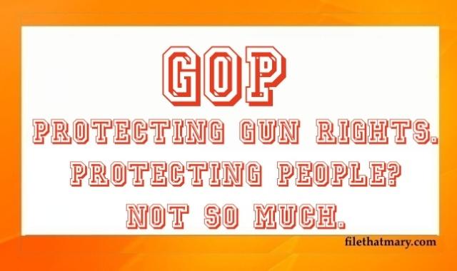 GOP GUN RIGHTS