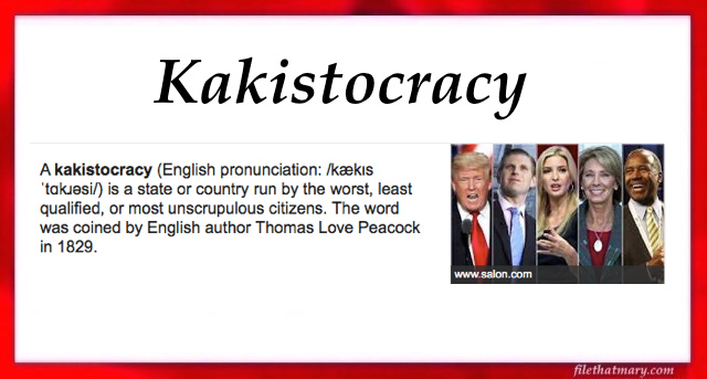 A kakistocracy
