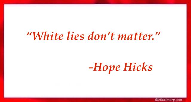 a hope hicks