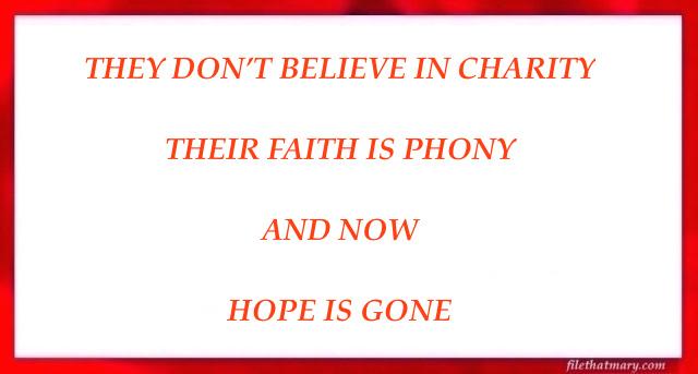 A HOPE GONE