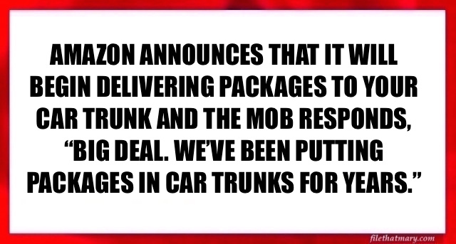 A CAR TRUNK