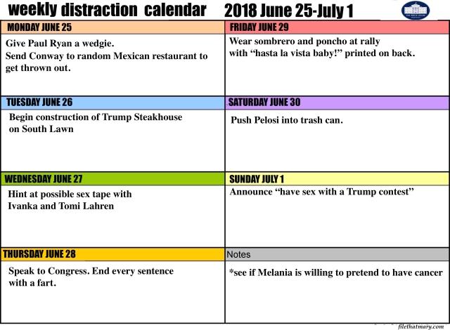 A good calendar