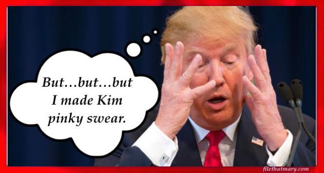 a pinky sweat trump