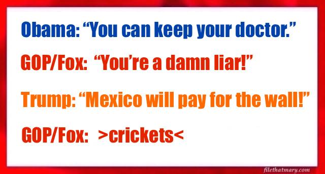 a liar trump