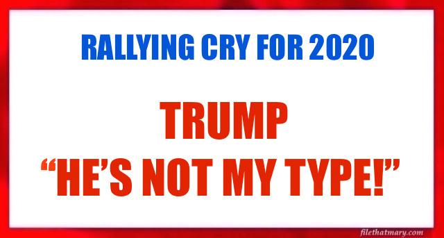 A TRUMP RALLY CRY