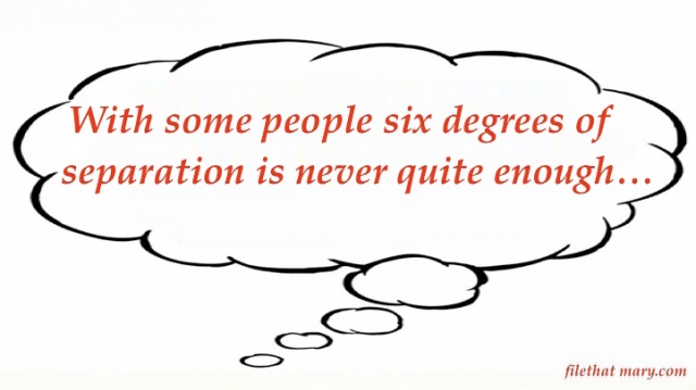 Mary's Random six degrees