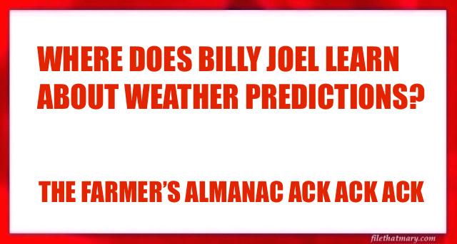BILLY JOEL PUN
